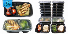 Bento Box Meal Prep Containers ONLY $0.81/Each!
