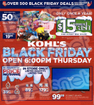 Kohls Black Friday Ad for 2014