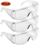 LBB-Parts 3PCS Sealed Safety Goggles Glasses Eye Protection Work Lab $9.99 (REG $18.99)