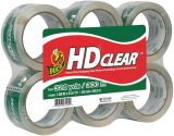 Duck HD Clear Heavy Duty Packing Tape $13.89 (REG $22.99)