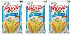 Garden Veggie Straws Just $0.38/Bag Shipped!