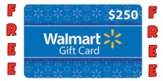 What Would You Do With A $250 Walmart Gift Card???