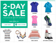 Kohl's 2-Day Sale: Up to 50% off Swimwear, Apparel, Shoes, and More!