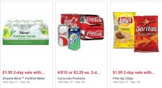 Walgreens 2 Day Sale: Cases of Water $1.99, Coke 12 Packs $2.50 and More!
