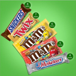 SNICKERS, M&M'S, 3 MUSKETEERS & TWIX Full Size Bars Variety Mix $11.99 (REG $20.99)