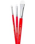3 CT Ultimate Watercolor Scrubber Paint Brush Set $8.99 (REG $21.45)