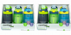 3-Pack Contigo Kids Water Bottles Just $3.99/Bottle!