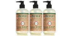 3-Pack Mrs. Meyer's Hand Soap Just $2.56/Bottle Shipped!