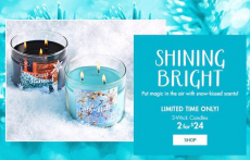Nice! Get Select 3-Wick Candles Only $10.66 Shipped at Bath & Body Works!