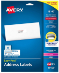 300 Avery Mailing Address Labels Pack $3.45 (REG $6.90)