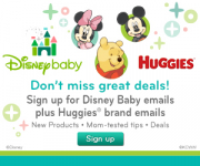 Having A Baby? Save With Disneybaby And Huggies!
