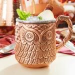 Owl Moscow Mule Mug $4.98 (REG $19.95)