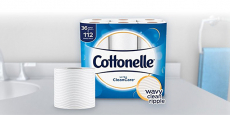 Cottonelle Toilet Paper 36ct Family Rolls Just $0.18/roll Shipped!