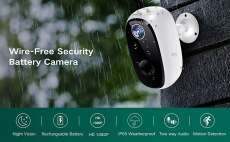 LIGHTNING DEAL!!! MECO 1080P Rechargeable Battery WiFi Camera$59.95 (REG $79.99)