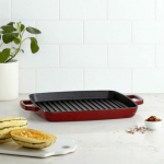 Martha Stewart 11″ Enameled Cast Iron Grill Pan Only $39.99 (Reg $100) + FREE Pickup!
