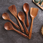 Wooden Cooking Utensil Set Non-stick Pan Kitchen Tool $17.16 (REG $35.99)