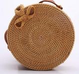Handwoven Round Rattan Bag $29.87 (REG $45.99)