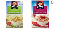 Amazon: Quaker Instant Oatmeals ONLY $0.19/Packet Shipped!