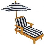 Outdoor Chaise with Umbrella $59.99 (REG $119.99)
