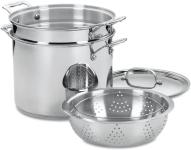 Cuisinart Chef's Classic Stainless 4-Piece 12-Quart Pasta/Steamer Set,Stainless Steel $56.31 (REG $150.00)