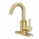 Hoimpro Single Handle Wet Bar Sink Faucet $46.99 (REG $118.99)