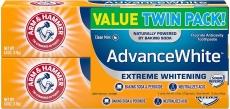 Arm & Hammer Advance White Extreme Whitening w/ Stain Defense, Fresh Mint, 6 oz $5.44  (REG $8.49)