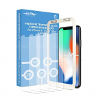 Beam Electronics Screen Protector for iPhone X,XS,11 Pro (4 Pack) $6.70 (REG $19.99)