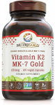 NutriGold Vitamin K2 MK7 Supplement, 120 Capsules, Bone and Heart Support, $12.67 (REG $29.97)
