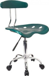 Vibrant Green and Chrome Swivel Task Office Chair with Tractor Seat$43.00 (REG $120.00)