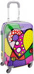 Rockland 20 Inch Polycarbonate Carry On, Heart, One Size $63.04 (REG $160.00)