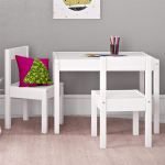 Baby Relax Hunter 3 Piece Kiddy Table and Chair Set, White $43.74 (REG $99.00)