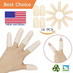 Gel Finger Cots, Finger Protector Support(14 PCS) $7.99 (REG $25.99)