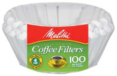 Melitta Junior Basket Coffee Filters White 100 Count $4.53 (REG $8.76)