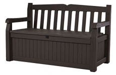 Keter Eden 70 Gallon Storage Bench Deck Box $86.99 (REG $169.99)