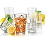Libbey 16-Piece Boston Drinkware Set Only $11.99 + FREE Pickup!