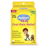 Kids Oral Pain Relief Tablets by Hyland's 4Kids $3.21 (REG $9.49)