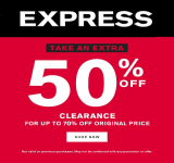 EXPRESS CLEARANCE SALE UP TO 70% OFF