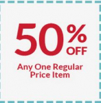 JoAnn and Michaels: 50% off 1 Item Coupons