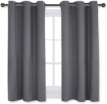 NICETOWN Bedroom Curtains Blackout Drapery Panels $14.86 (REG $43.73)