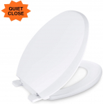 Dalmo Elongated Toilet Seat, $24.49 (REG $34.99)