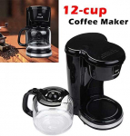 Ouneed Coffee Maker Home Coffee Machines 12-Cup (Black)$19.99 (REG $39.99)