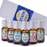 Best Blends Set of 6 100% Pure, Best Therapeutic Grade Essential Oil $17.99 (REG $40.95)