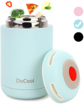DaCool Hot Food Jar Vacuum Insulated Stainless Steel Thermoses Food 16 oz $15.99 (REG $27.99)