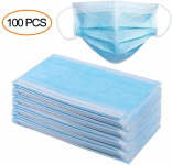 Masks for dust Protection,Medical Disposable Face Masks (100 Pieces) $70.50 (REG $139.99)