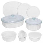 French White Round and Oval Bakeware Set (12-Piece) $37.49 (REG $59.99)
