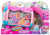 Shopkins Cutie Cars Play 'n' Display Cupcake Van with Exclusive Cutie Car Mini $11.01 (REG $19.99)