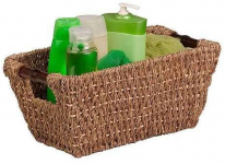 Honey-Can-Do Sea Grass Basket Tote w/ Handles $10.34 (REG $22.49)