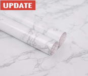 practicalWs Marble Contact Paper Granite Gray/White Roll $17.85 (REG $17.85)