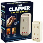 The Clapper, Wireless Sound Activated On/Off Light Switch $15.79 (REG $29.00)