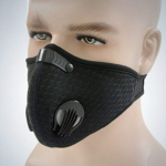 YYQXIiyty Outdoor Anti-dust Mask, PM 2.5 Windproof Cycling Facemask Washable $5.29 (REG $16.50)
